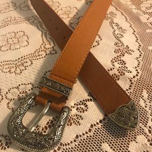 Accessories - Camel color ladies western belt